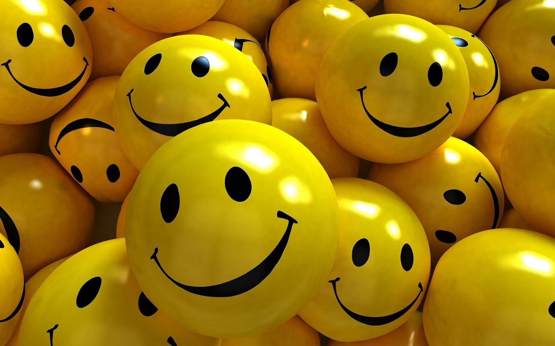 Smiles Smile Yellow Wallpaper