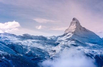 Snow Mountain 4K Ultra HD Wallpaper 3840x2160 340x220
