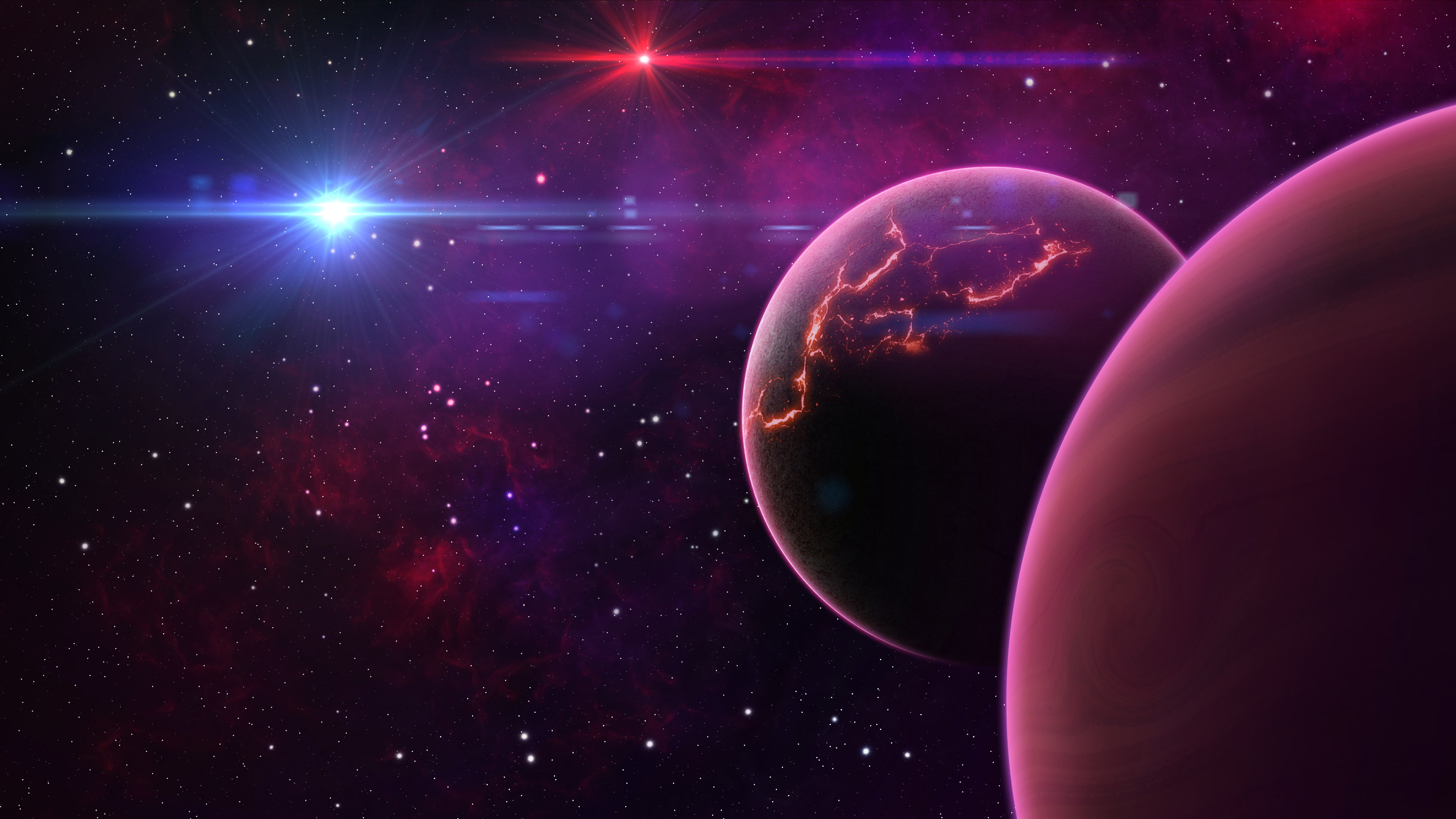 space 4k ultra hd wallpaper 3840x2160