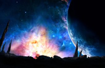 Space Fantasy 4K Ultra HD Wallpaper 3840x2160 340x220