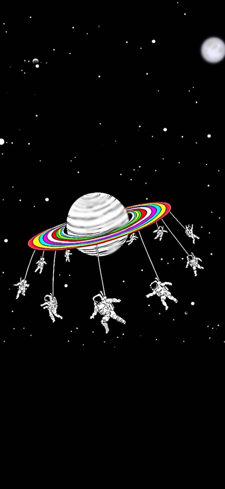 Space Phone Wallpaper 018 1080x2340 768x1664