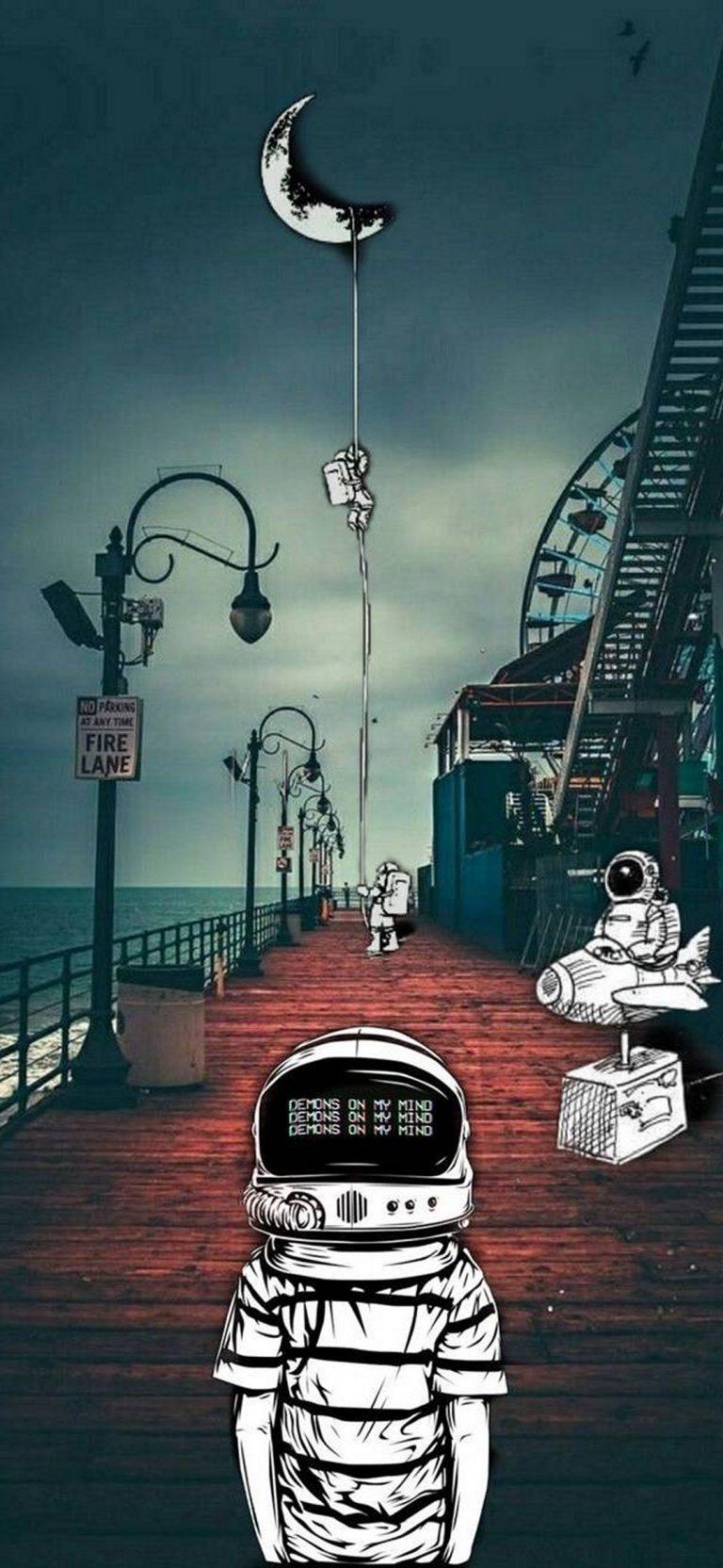 Space Phone Wallpaper 127 1080x2340 768x1664