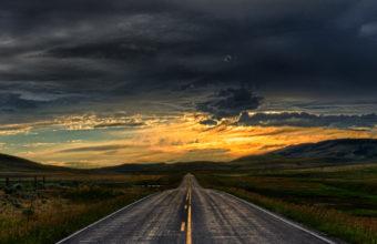 Straight Road iPhone 7 Wallpaper 750x1334 340x220