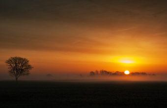 Sunset Landscape 4K Ultra HD Wallpaper 3840x2160 340x220