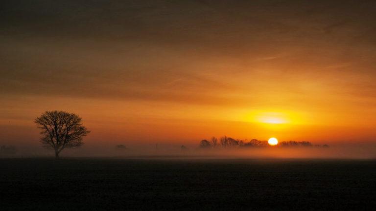 Sunset Landscape 4K Ultra HD Wallpaper 3840x2160 768x432