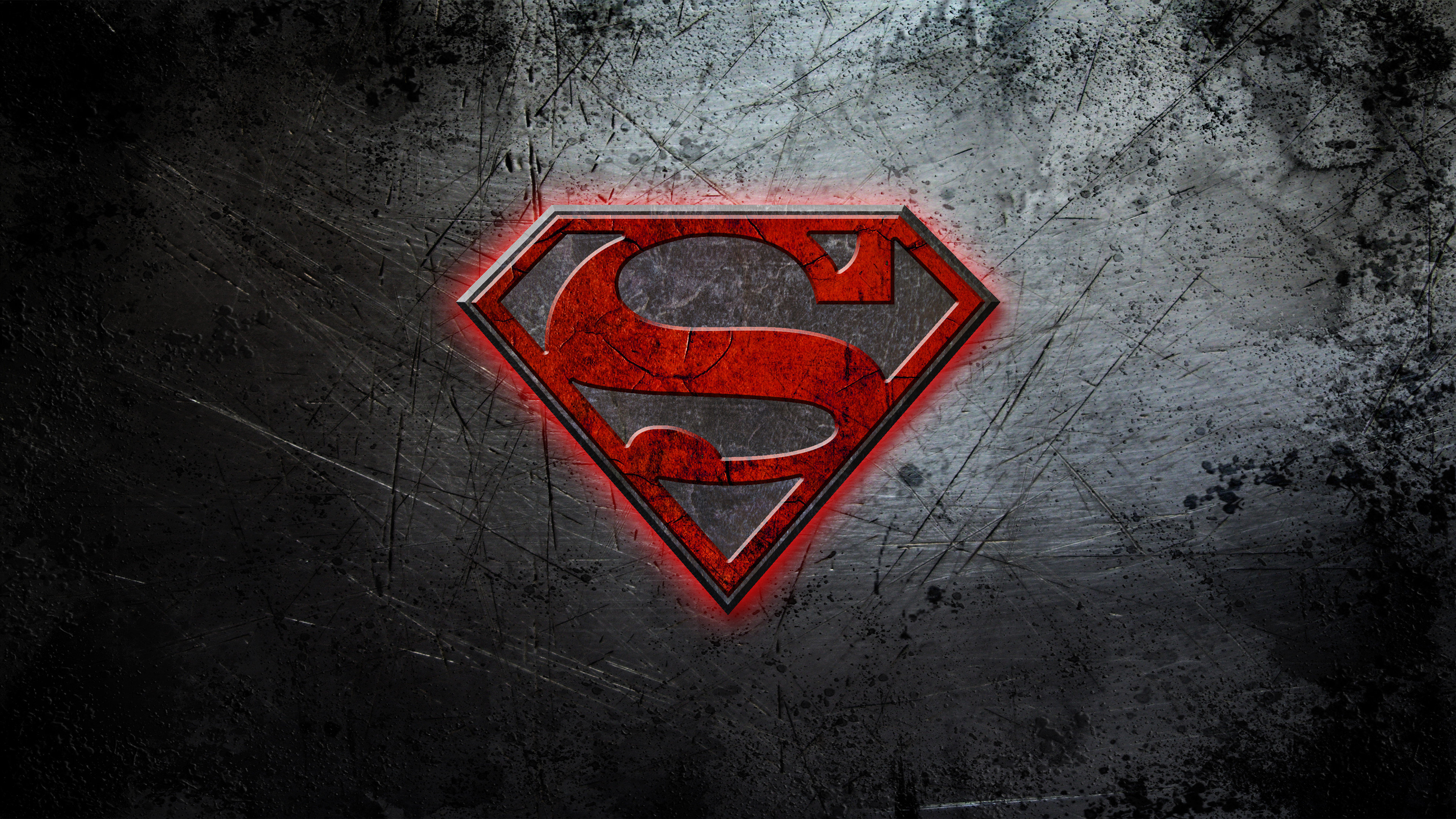 Superman Logo 4K Ultra HD Wallpaper [3840x2160]