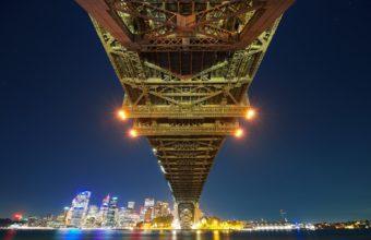 Sydney Bay Bridge Wallpaper 2560x1600 340x220