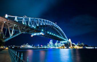 Sydney Harbour Bridge Wallpaper 1920x1200 340x220
