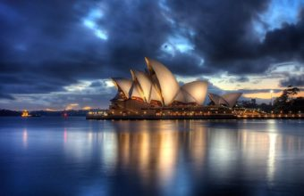 Sydney Opera House View Wallpaper 1280x800 340x220