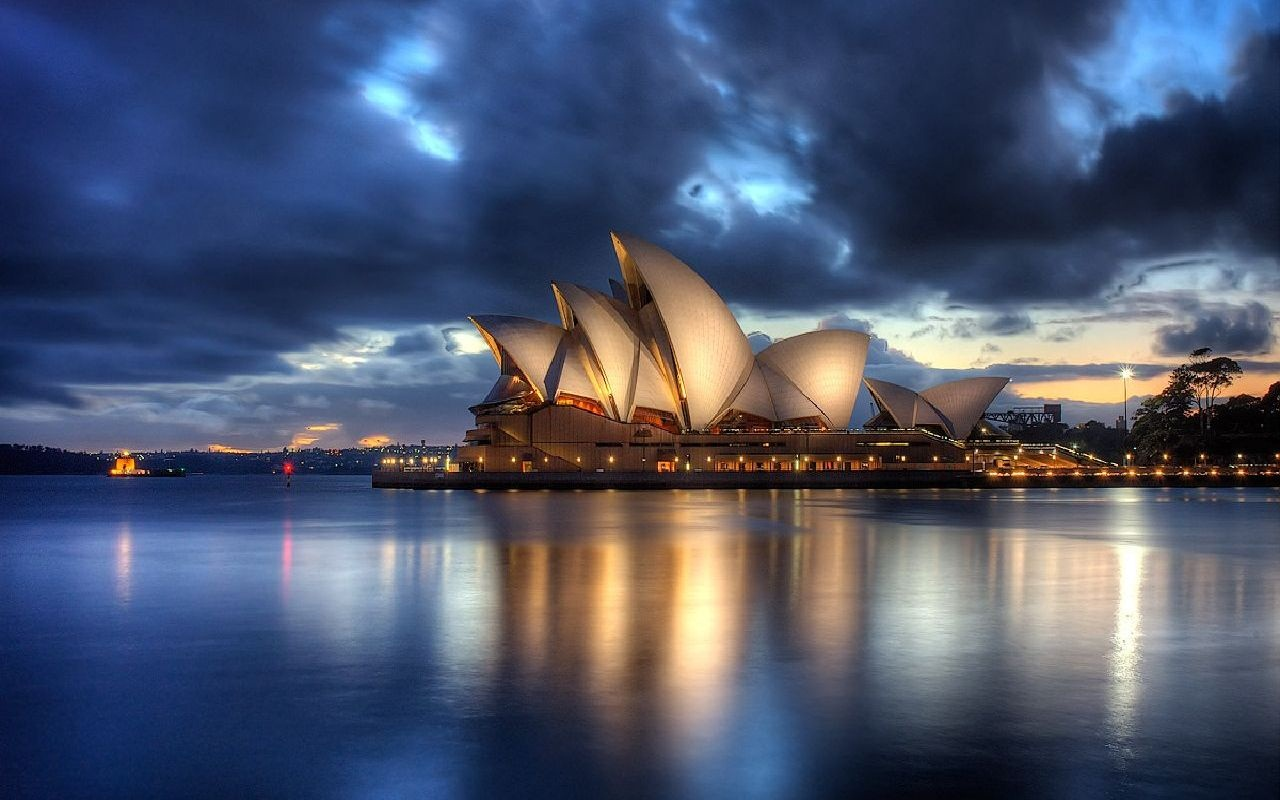 Beautiful Wallpaper Night House - Sydney-Opera-House-View-Wallpaper-1280x800  Gallery-91332.jpg