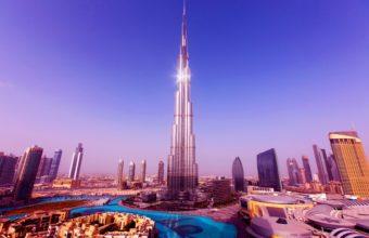 Tallest Tower Burj Khalifa Wallpaper 2560x1600 340x220