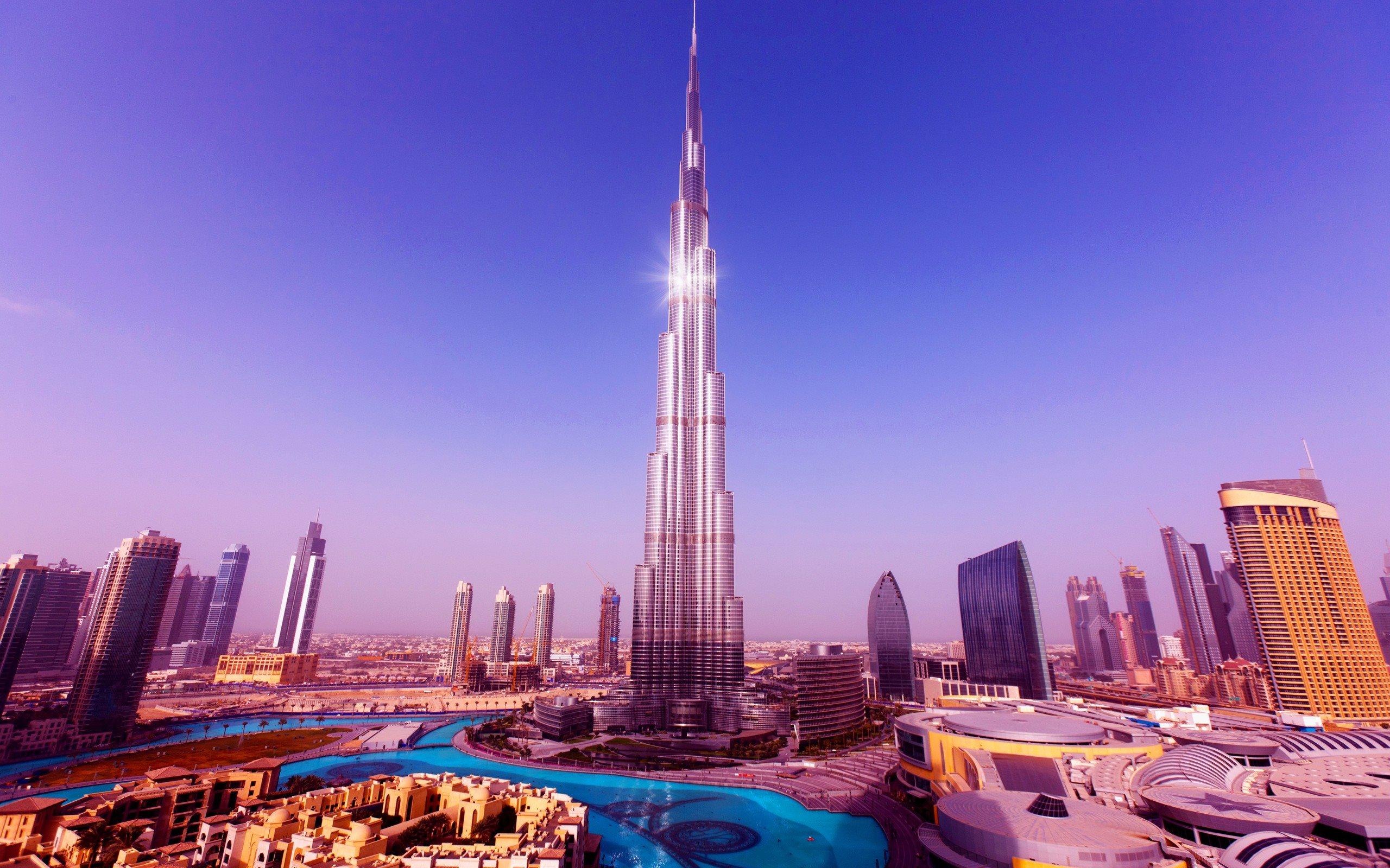 Tallest Tower Burj Khalifa Wallpaper 2560x1600
