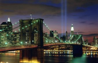 Tribute In Light New York City Wallpaper 1600x1200 340x220