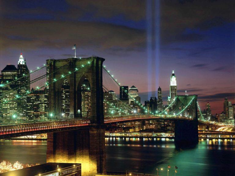 Tribute In Light New York City Wallpaper 1600x1200 768x576