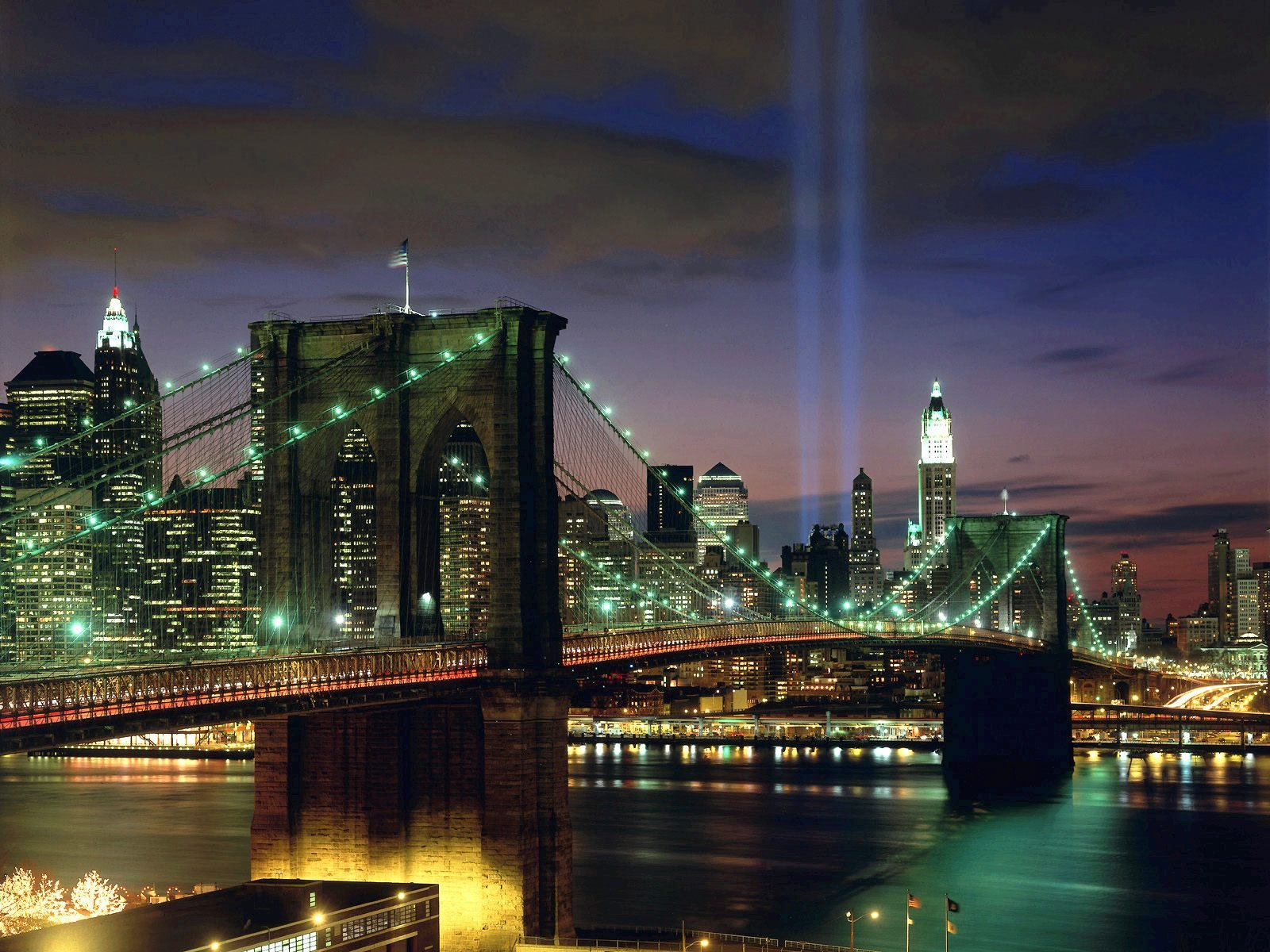 Tribute in light new york city wallpaper 1600x1200 voltagebd Image collections