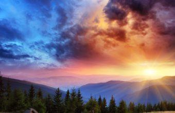 Valley Morning 4K Ultra HD Wallpaper 3840x2160 340x220
