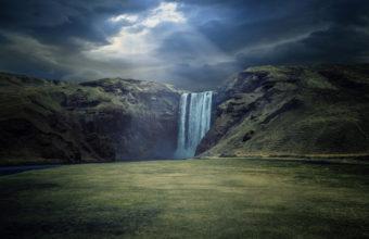 Waterfall Landscape 4K Ultra HD Wallpaper 3840x2160 340x220