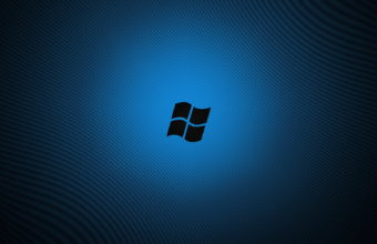 Windows Logo Blue Wallpaper 1680x1050 340x220