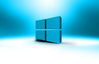 Windows Logo Hd Blue White Wallpaper 1920x1080 340x220