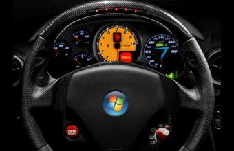 Windows Ready Car Wallpaper 1600x1200 340x220