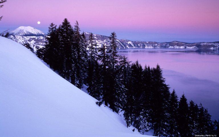 Winter Mountain Slide Wallpaper 1920x1200 768x480