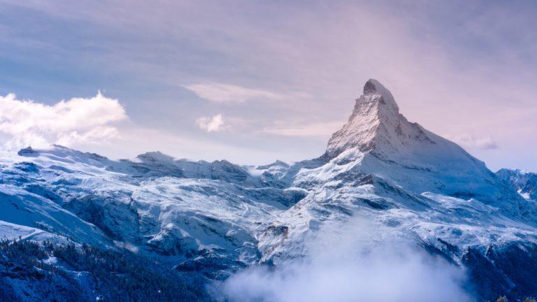 Winter Mountain Wallpaper 3840x2160 768x432