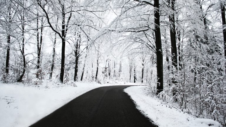 Winter Road Wallpaper 1920x1080 768x432