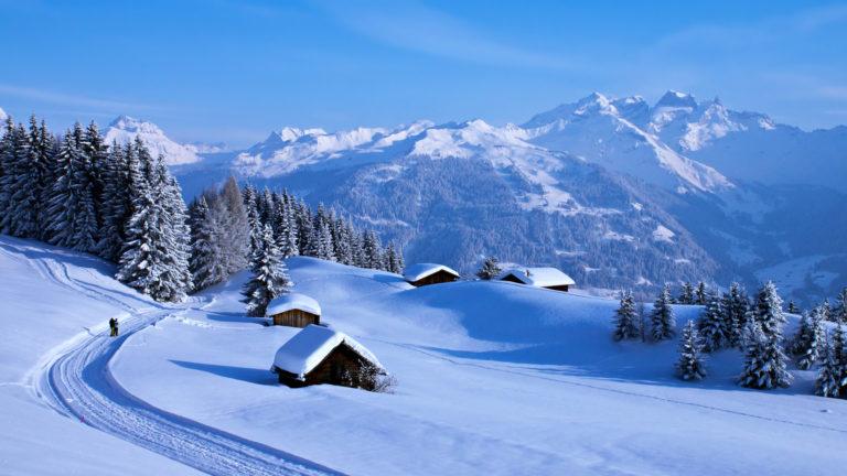 Winter Snow 4K Ultra HD Wallpaper 3840x2160 768x432