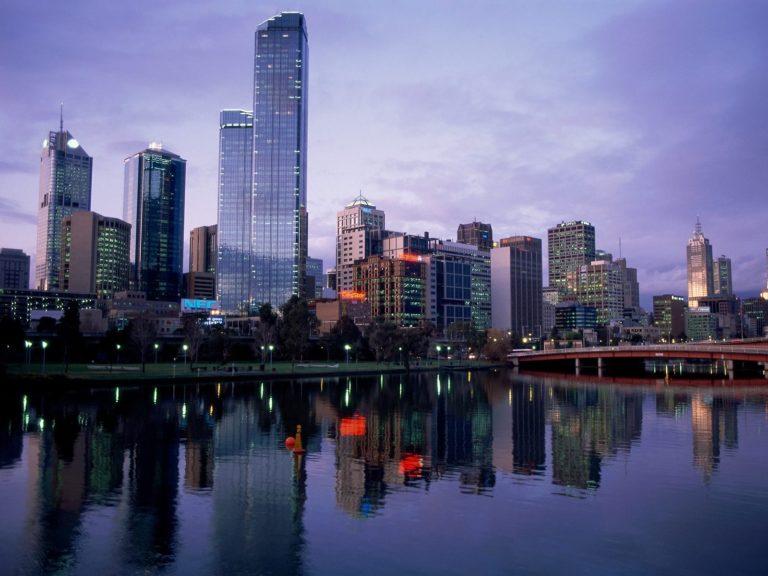 Yarra River Australia Wallpaper 1600x1200 768x576