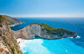 landscapes cliffs beaches ocean sea 340x220