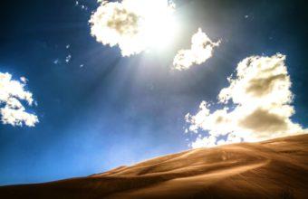 Bright desert wallpaper 340x220