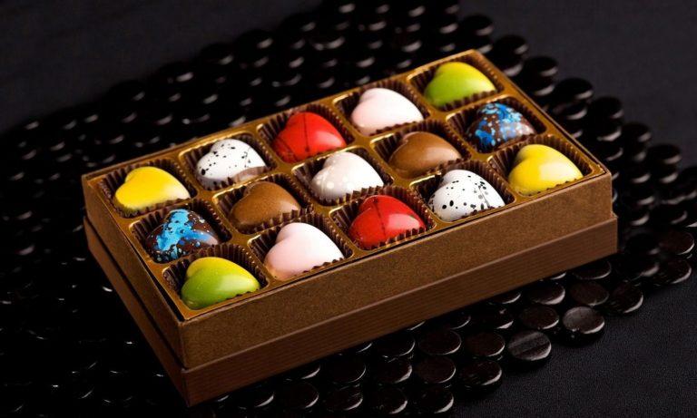 Chocolate Candies Allsorts Wallpaper 1440x864 768x461