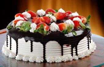 Chocolate Food Cake Sweets Wallpaper 1920x1200 340x220