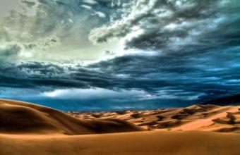 Clouds landscapes nature desert 340x220