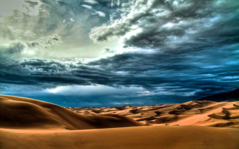 Clouds landscapes nature desert 768x480