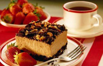 Coffee Food Cake Desserts Wallpaper 1920x1200 340x220