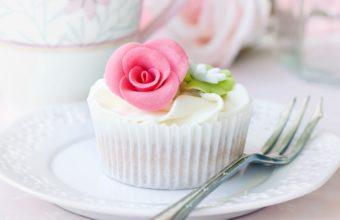 Cream Roses Cake Food Dessert Wallpaper 2560x1600 340x220
