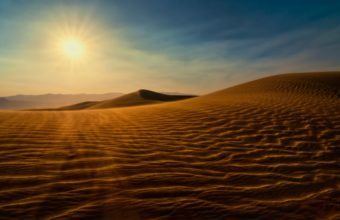 Death Valley Sunset Dunes 340x220