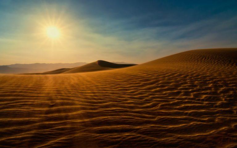 Death Valley Sunset Dunes 768x480