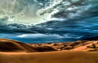 Desert Dunes Cloudy 340x220