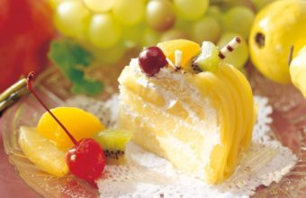 Dessert Cake Fruit Wallpaper 1280x1024 340x220