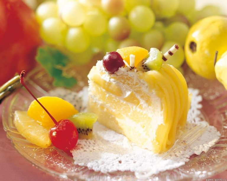 Dessert Cake Fruit Wallpaper 1280x1024 768x614