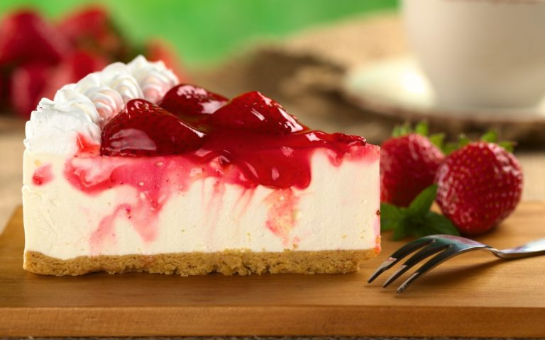 Dessert Cake Piece Berries Cheesecake Wallpaper 1920x1200 768x480