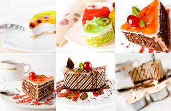 Desserts Cakes Allsorts Wallpaper 1440x900 340x220