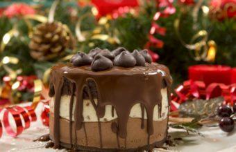 Desserts Chocolate And Cream Cake Wallpaper 1440x900 340x220