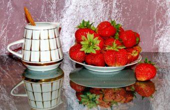 Fruit Strawberry Food Strawberries Still Wallpaper 3072x2048 340x220