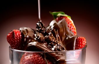 Glass Dessert Sweets Strawberry Wallpaper 3600x2700 340x220