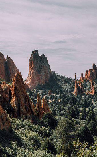 Huge Mountains Wallpaper 340x550