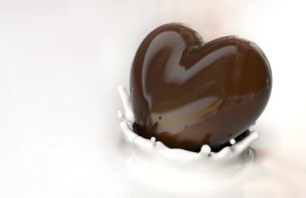 I Love Chocolate Heart Wallpaper 2560x1600 340x220