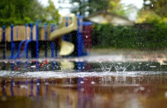 Macro Playground Rain Puddles Wallpaper 2048x1367 340x220